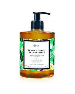 BODY AND HAND LIQUID SOAP TIARE FLOWER